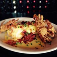 From our BRUNCH menu, Southern Benedict