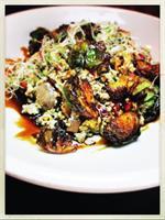 From our BRUNCH menu, Veggie Scramble