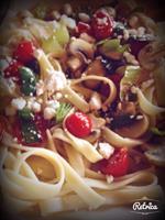 Vegetarian Fettuccini