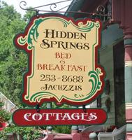 Hidden Springs B & B and Cottages