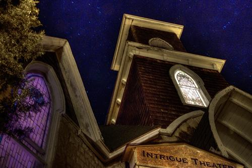 Intrigue Theater @ the Gavioli Chapel, 80 Mountain Street, Eureka Springs, AR