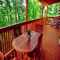 Covered spacious decks