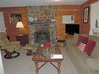 Living area in cabin 9 (upstairs)