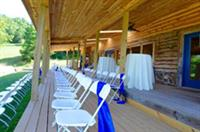 Sky Ridge Pavilion - covered deck, outdoor weddings and privacy