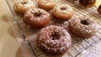 Homemade spice donuts