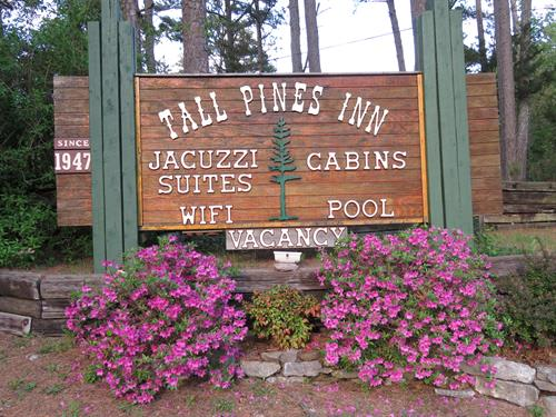 Tall Pines Entrance