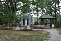 Vista Photograph of Chapel and Gazebo