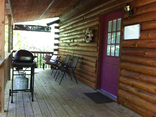 Deck at Country Rose