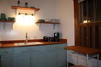 Complete equiped kitchen ready for your use at Cottage On The Hillside