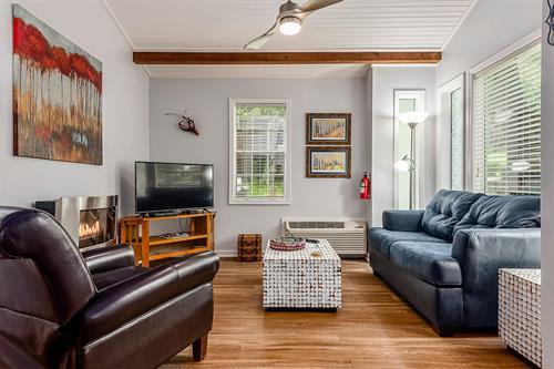Aspen Cabin Living room