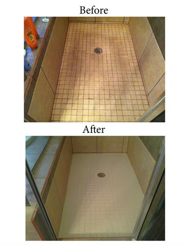 Update shower surround - RESURFACE improves look and durability