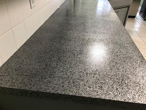 After - Silver Stone Metal Flake - Don't replace, RESURFACE Instead
