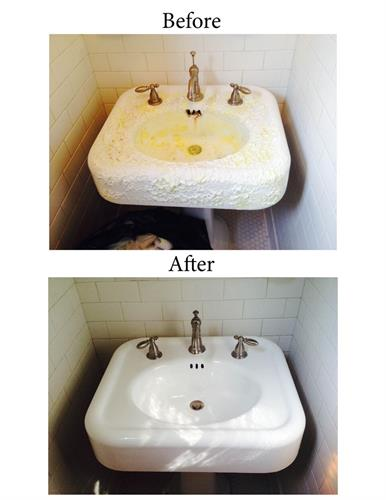 Resurface Sinks - No need to replace - RESURFACE Instead
