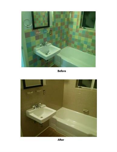 New tile color.