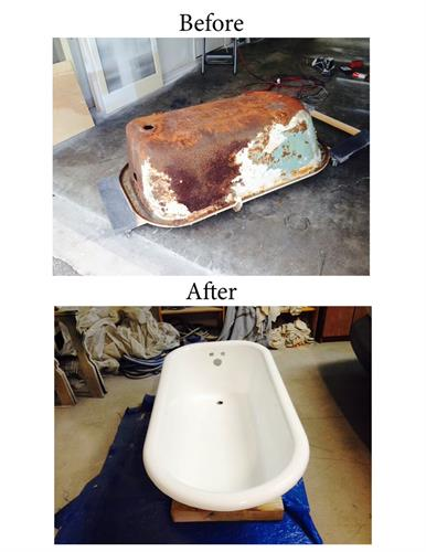 Restore antique fixtures.