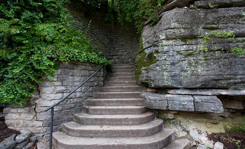 Stairs of Eureka Springs