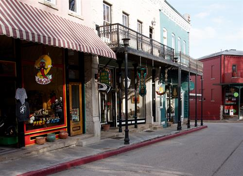 Shops on Spring Street
