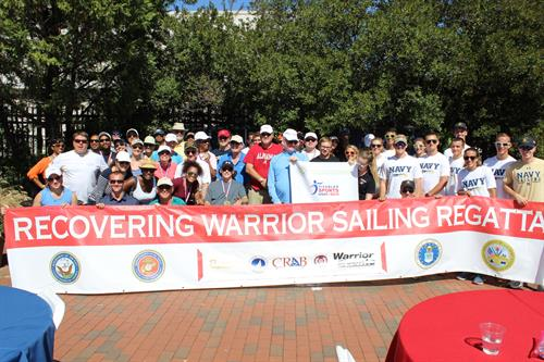 Recovering Warrior Sailing Regatta with USNA and Walter Reed