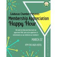 Membership Appreciation Happy Hour!