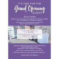 Illuminate Face & Body Grand Opening & Ribbon Cutting Ceremony