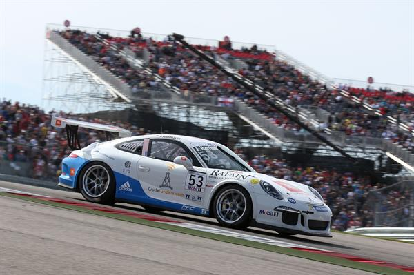 Crudefunders Formula 1 Race in Austin (Porsche GT3 Cup Series) finished #18