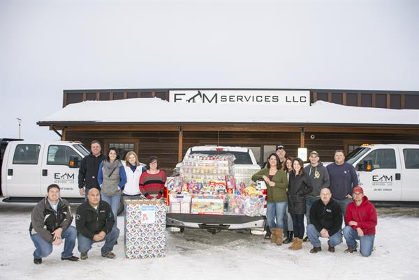 """Fuel Food and Fun"", Food and Toy Drive"