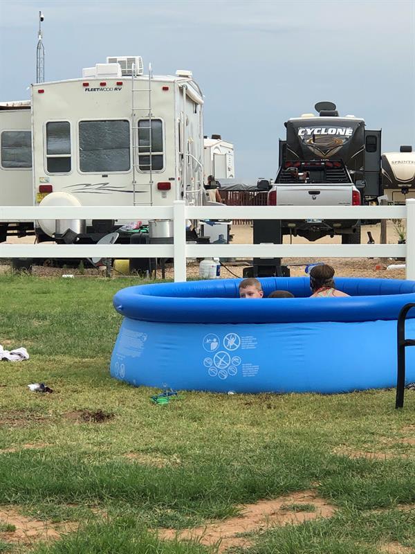 Pool fun on 4th of July
