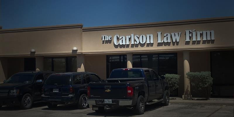 The Carlson Law Firm's Midland Location
