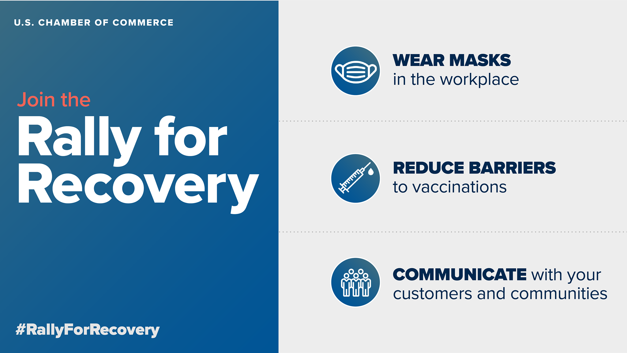 Why and How Your Business Can Rally for Recovery