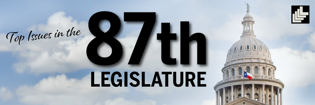 Image for Top Issues in the 87th: Governor Signs Legislation into Law (June 9 Update)
