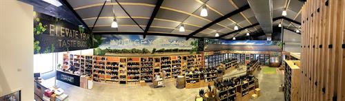Internal graphics - Waikato Beer & Wine Company
