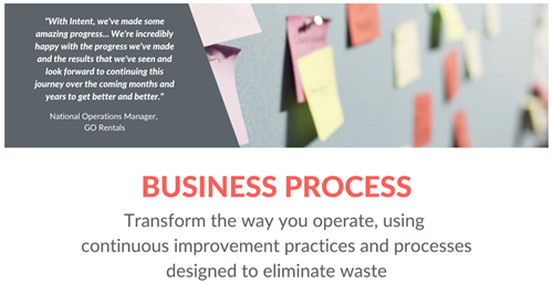 What We Do - Business Process Improvement
