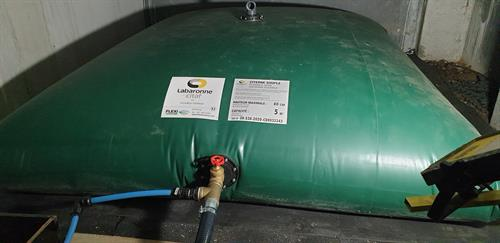 5m3 or 5000L of water storage for Domestic Household