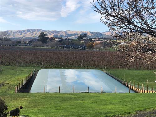 1200m3 Water Storage for a Blenheim Vineyard