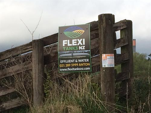 You may have seen our Fence Signs out and about!