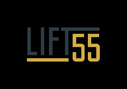 Lift55 Logo