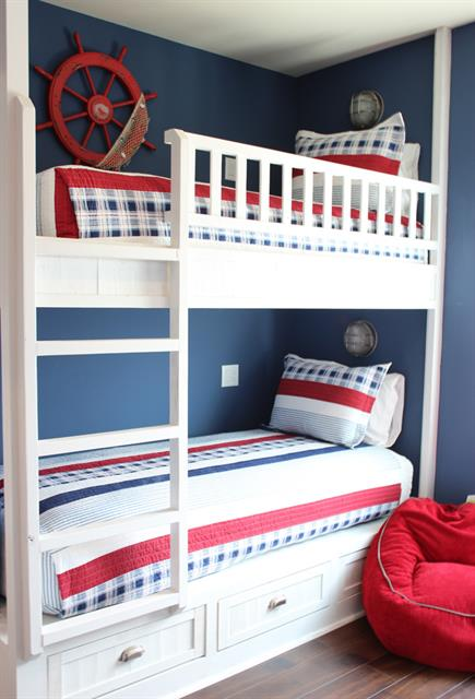 2nd Floor Bunk Room (sleeps 4)