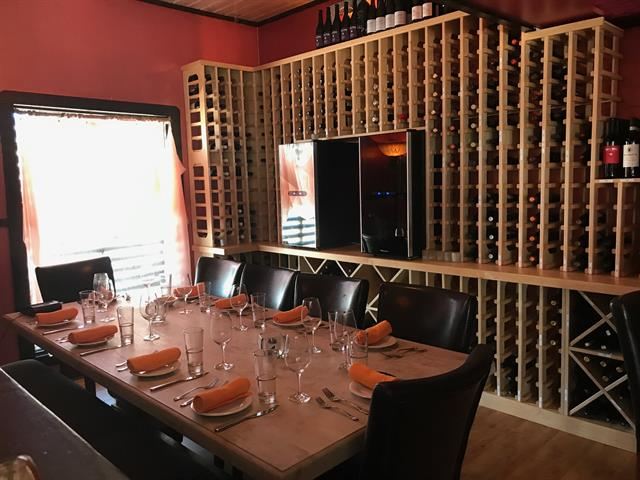 Wine Room - seats 12