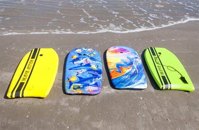 Boogie Boards | Beach Rentals Fun in the Sun