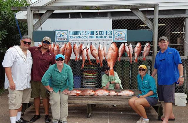Red snapper catch