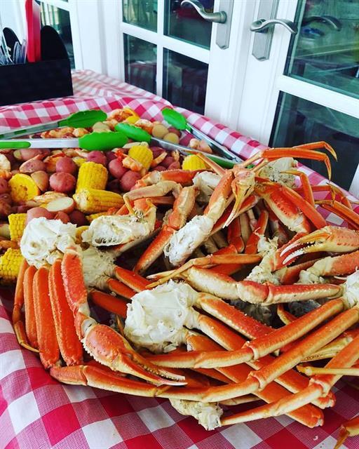 Crab Legs too!!