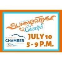Summertime by George - 150th Anniversary Booth