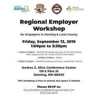 NM Department of Workforce Solutions Regional Employer Workshop