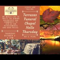 Terrazas Funeral Chapel Hello Thursday