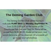 Deming Garden Plant Sale