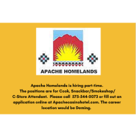Apache Homelands Casino