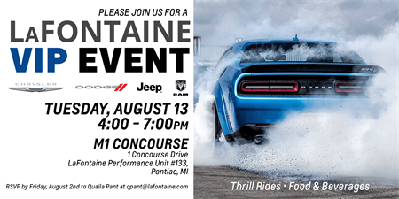 Lafontaine Ann Arbor >> LaFontaine VIP Event - Aug 13, 2019 - Event | A2Y Chamber ...
