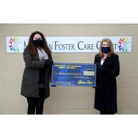 UNIVERSITY OF MICHIGAN CREDIT UNION DONATES $5,000 TO THE MICHIGAN FOSTER CARE CLOSET