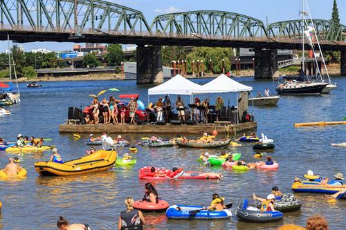 The Big Float - Willamette River Portland, OR