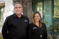 CEO and Founder Brian Waskow and HR/Corporate Development Jessica Waskow